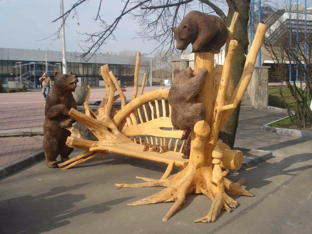 Лесной ресурс / Форум / Interesting facts and fun forest / Art and chainsaw