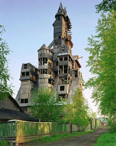 Лесной ресурс / Форум / Interesting facts and fun forest / The highest wooden house