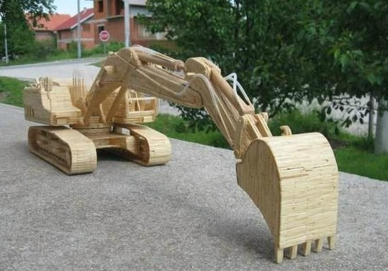 Лесной ресурс / Форум / Interesting facts and fun forest / Wooden appliances