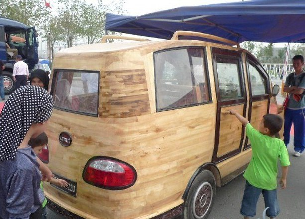 Лесной ресурс / Форум / Interesting facts and fun forest / Cars made of wood